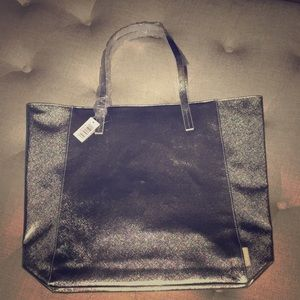 Silver Clinique Tote Bag.